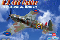 MS406 French WWII Monoplane Fighter