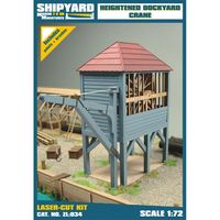 Heightened Dockyard Crane skala 1:72