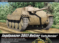 Jagdpanzer 38(t) Hetzer [Early Version]