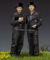 German Panzer Crew Set (2 figs)
