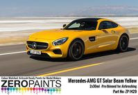 1429 Mercedes-AMG GT Solar Beam Yellow Set