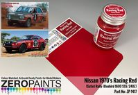 1417 Racing Red Nissan 1970s Safari Rally Bluebird 1600 SSS/240Z