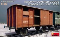 Railway Covered-Goods Wagon 18t NTV Type