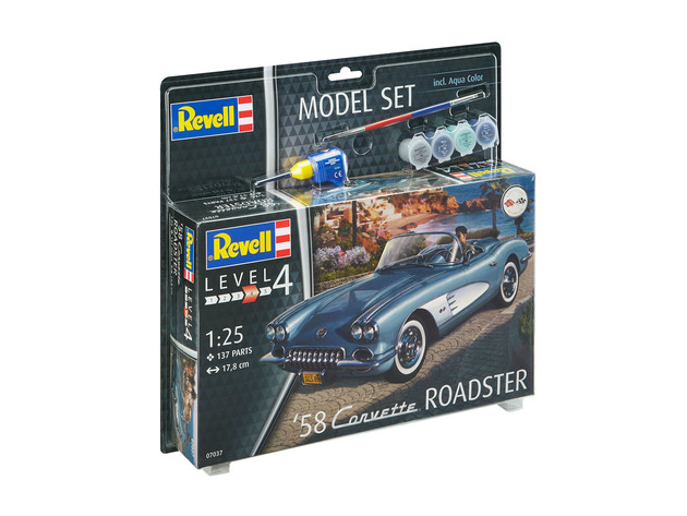 58 Corvette Roadster Model Set - Image 1