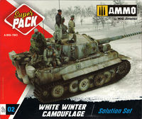 White Winter Camouflage Solution [Set]
