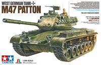 West German Tank M47 Patton
