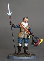 Officer with Javelin, 30 Years War 1618-1648