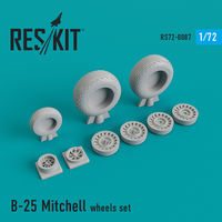 B-25 Mitchell wheels set - Image 1