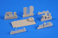 Avro Lancaster Mk.I/III - Interior set 1/72 for Airfix kit