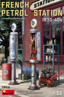 French Petrol Station 1930-40s - Image 1