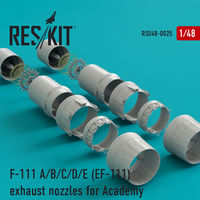 F-111 A/B/C/D/E (EF-111) exhaust nozzles for Academy KIT - Image 1