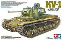 Russian Heavy Tank KV-1 Model 1941, Early Production