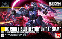 Blue Destiny Unit 1 Exam (Gundam 83907)