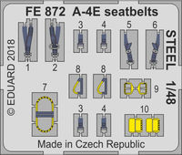 A-4E  seatbelts STEEL  HOBBY BOSS